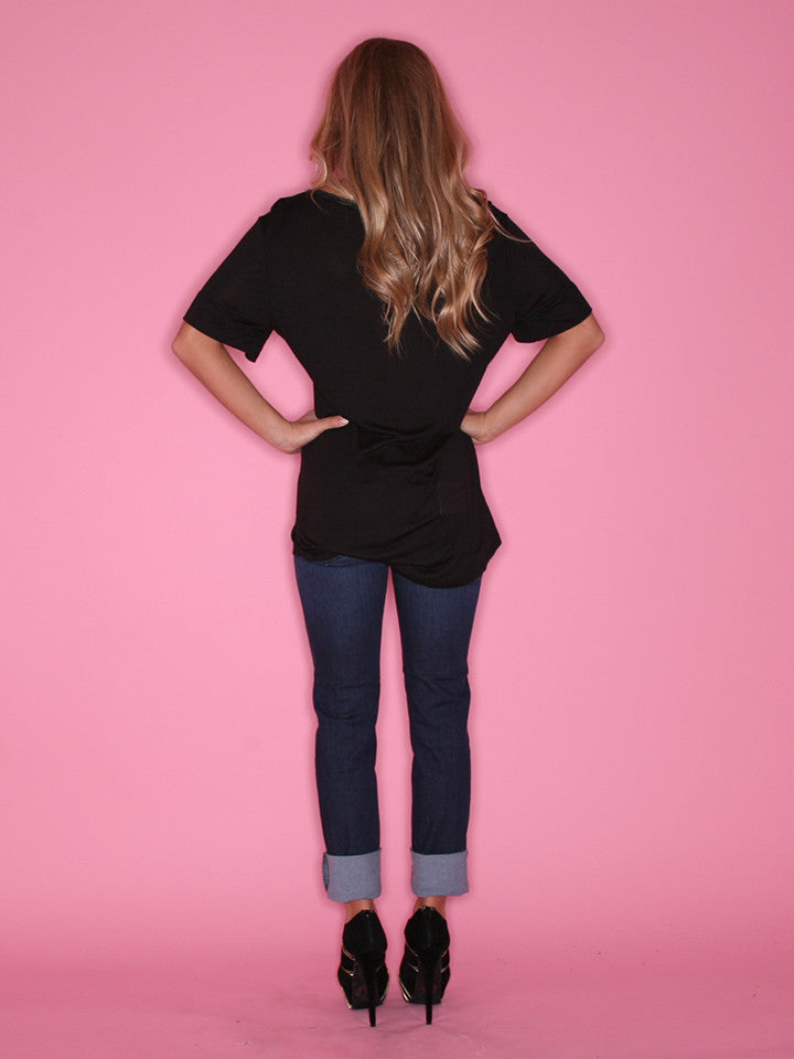 Everyday Chic Tee Black