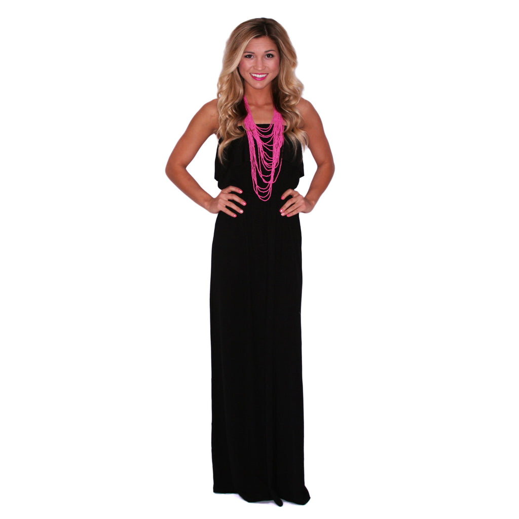 Blissful Day Maxi in Black