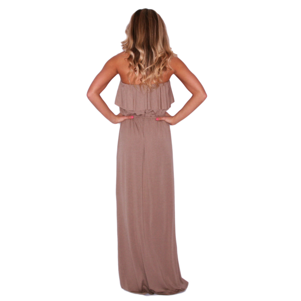 Blissful Day Maxi in Mocha