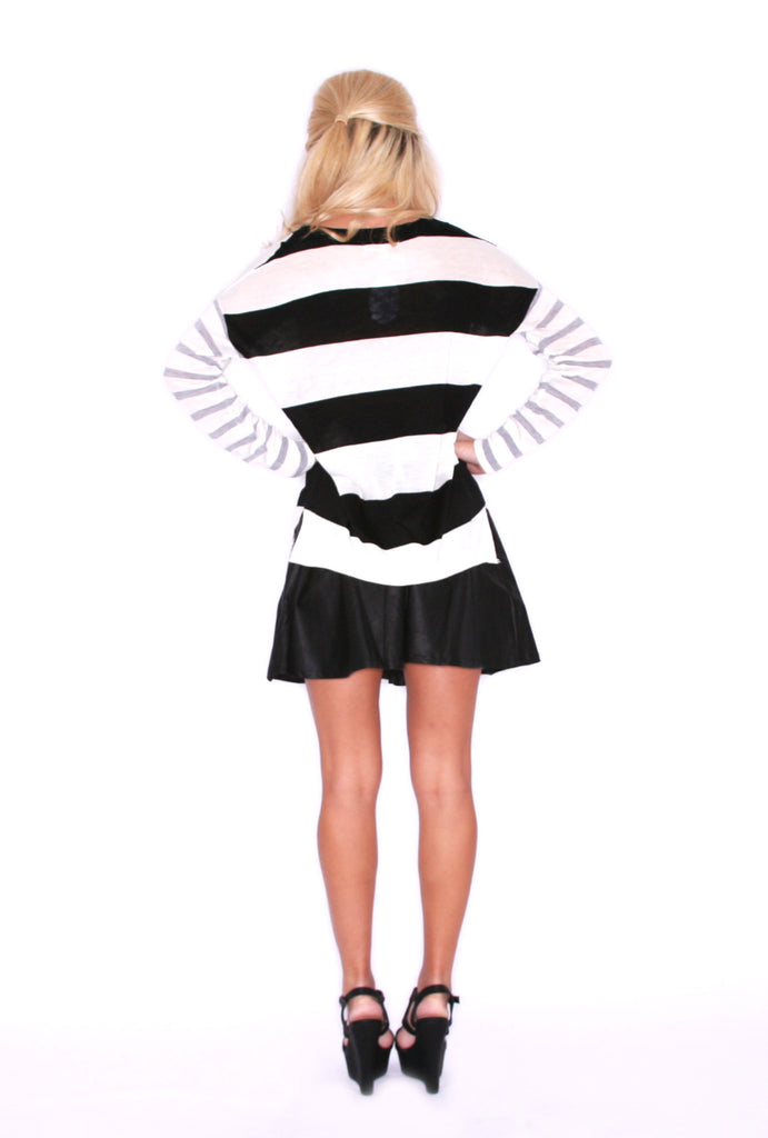 Bliss Stripe Black