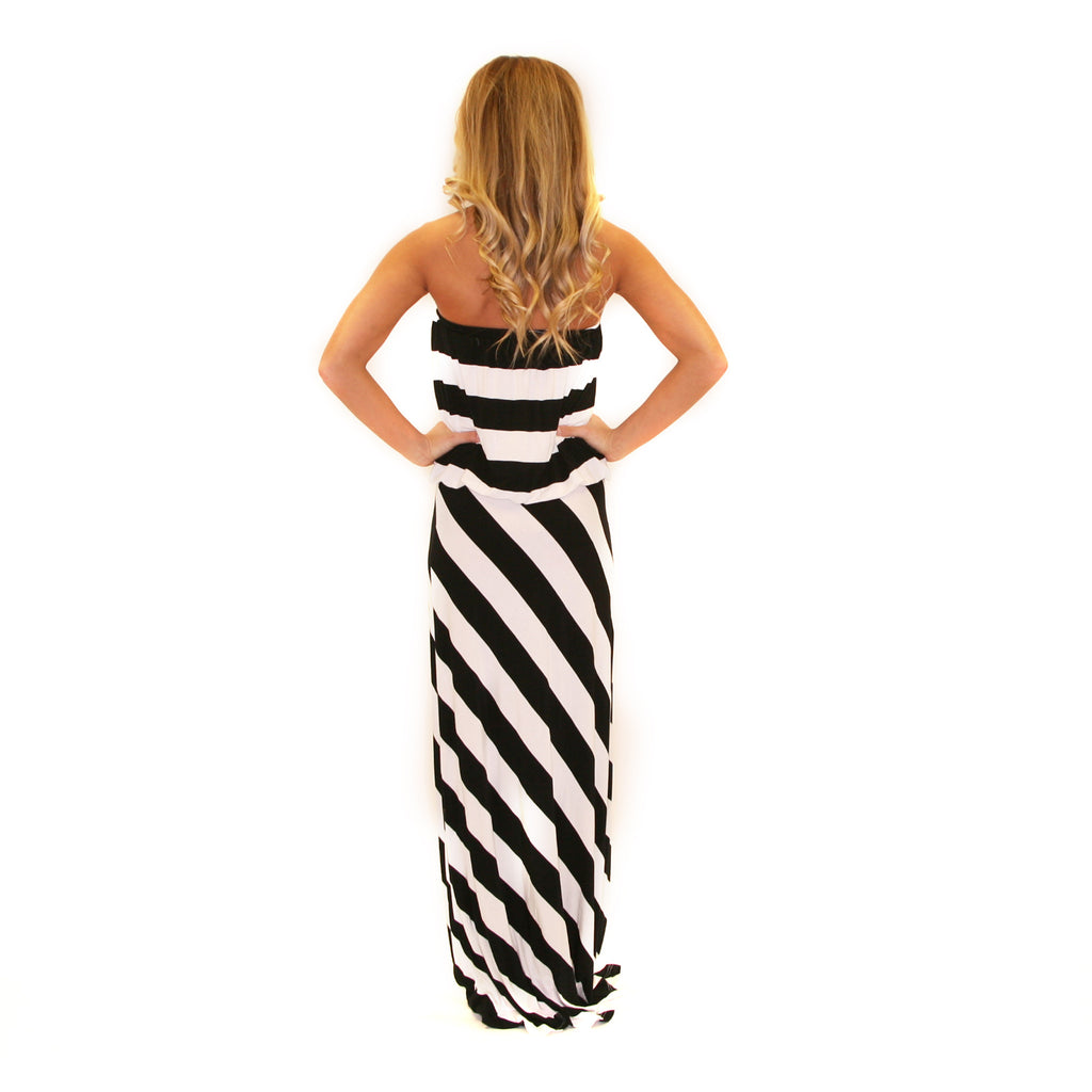 Blurred Lines Maxi in Black