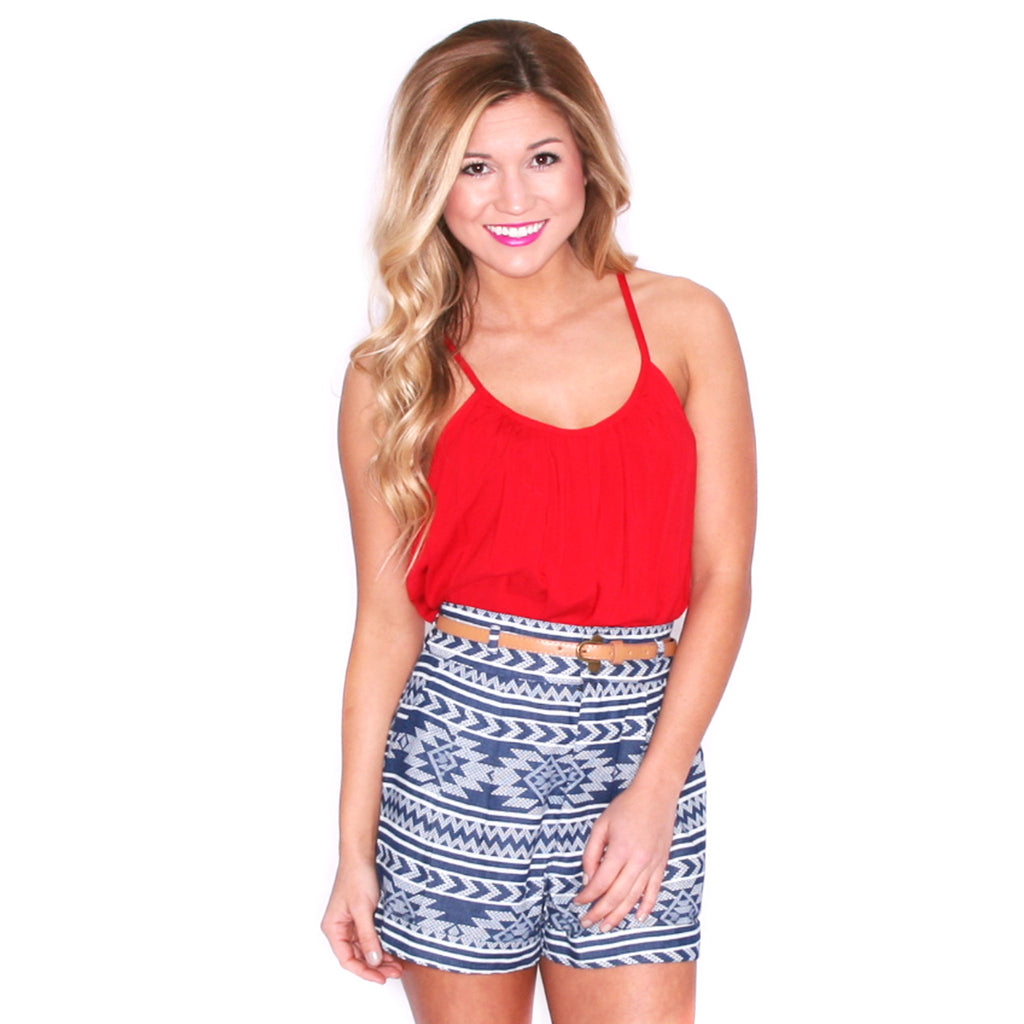 Boardwalk Tank in Red