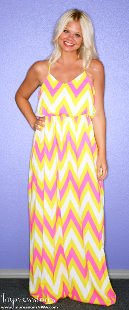 Boho Beauty Maxi in Yellow