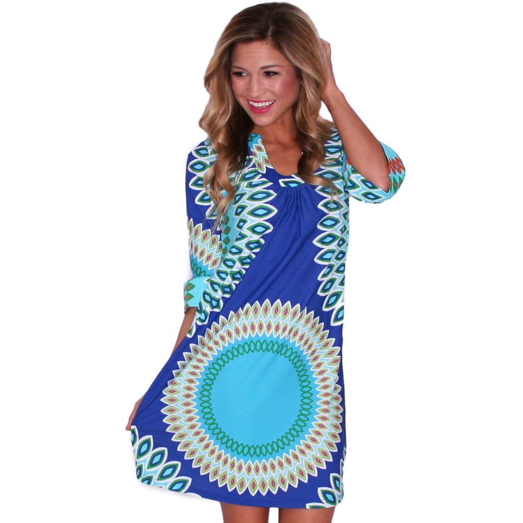 Bold & Brave Shift Dress