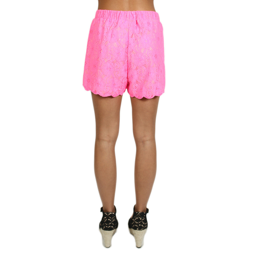 Bora Bora Vacay Short in Hot Pink