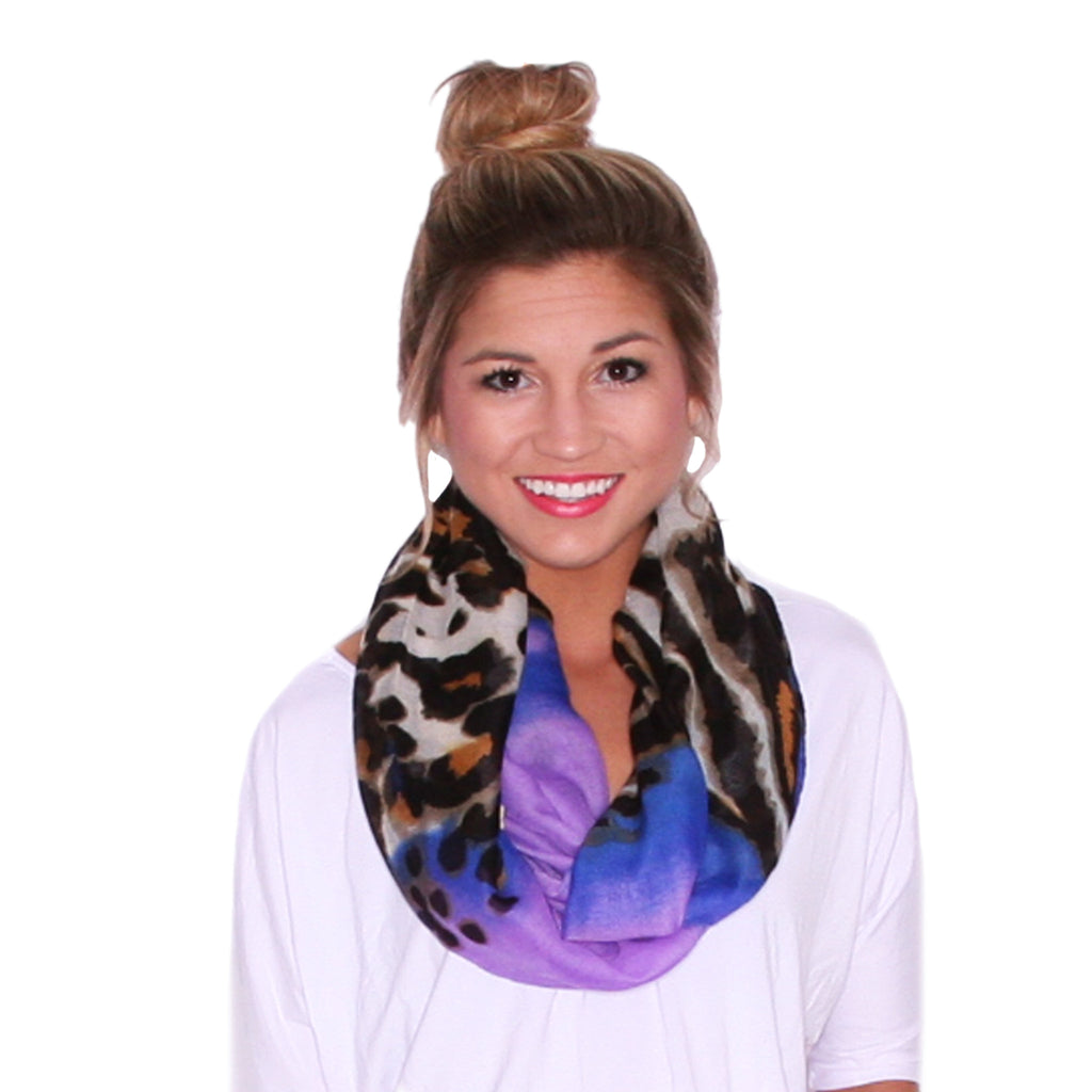 Beachy Breeze Scarf in Lavender