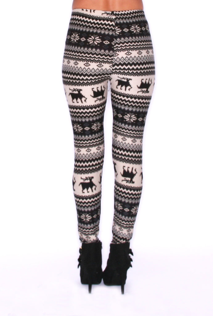 Cabin Cozy Legging Grey