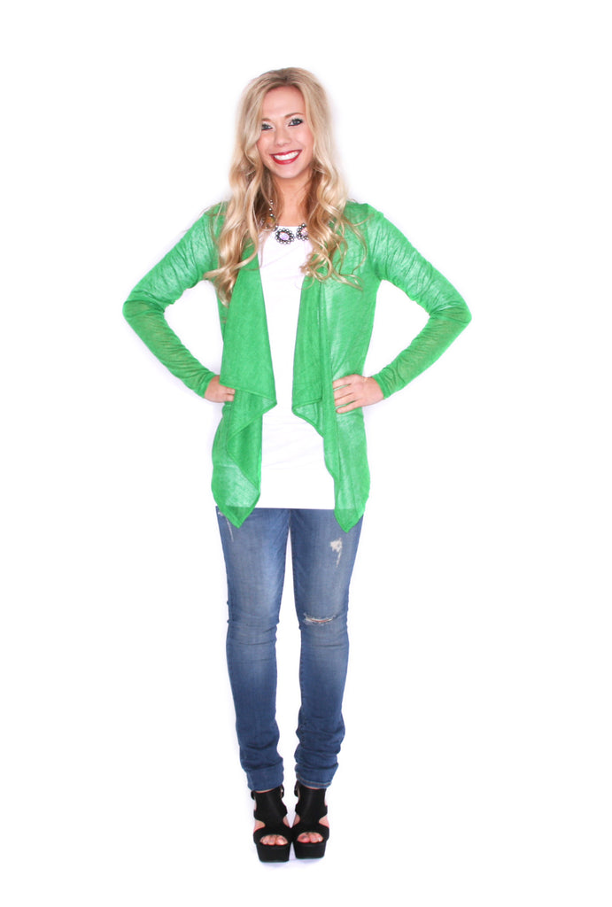 Cardi Lovely Green