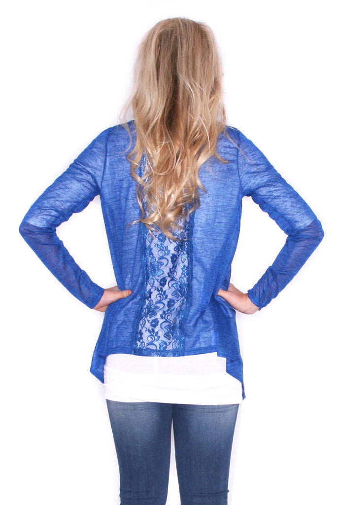 Cardi Lovely Royal Blue