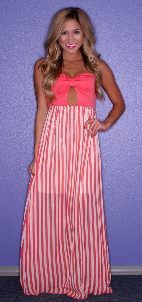 Champagne Toast Maxi in Coral
