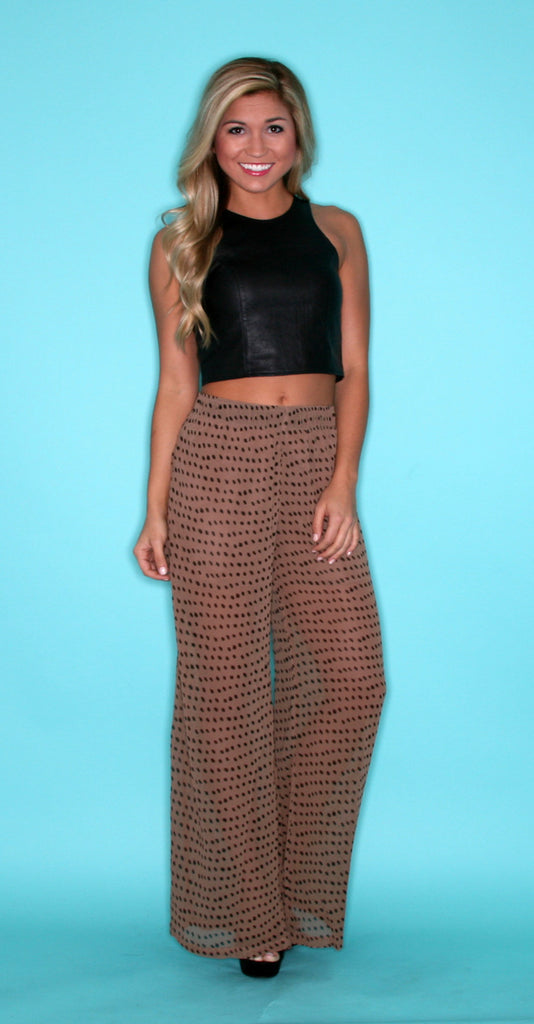 Pretty Chic Pant Taupe