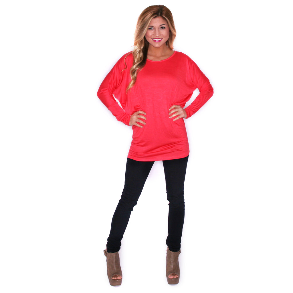 Ciao Bella Tee in Hot Pink
