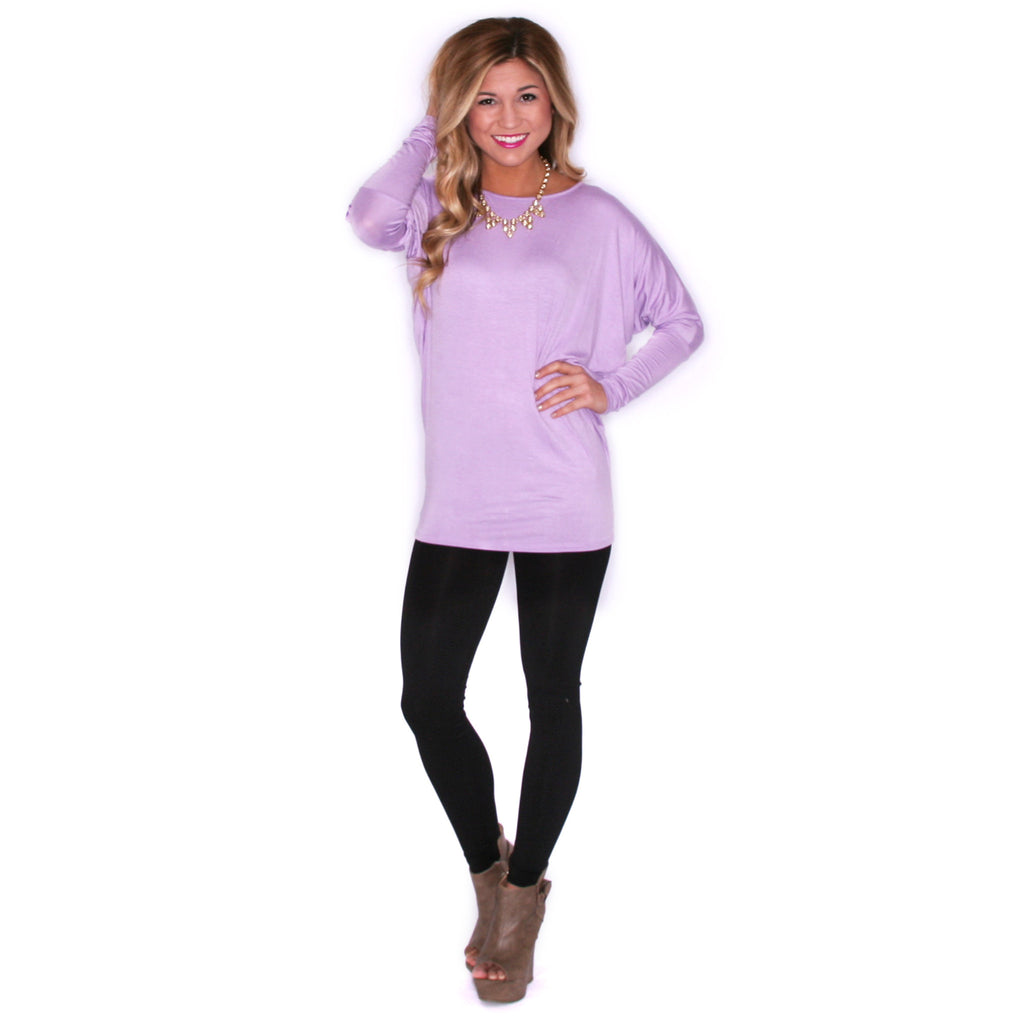 Ciao Bella Tee in Lavender