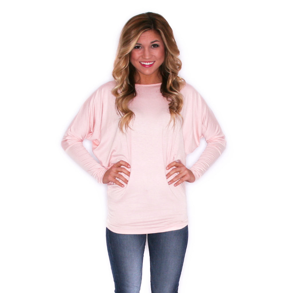 Ciao Bella Tee in Light Pink