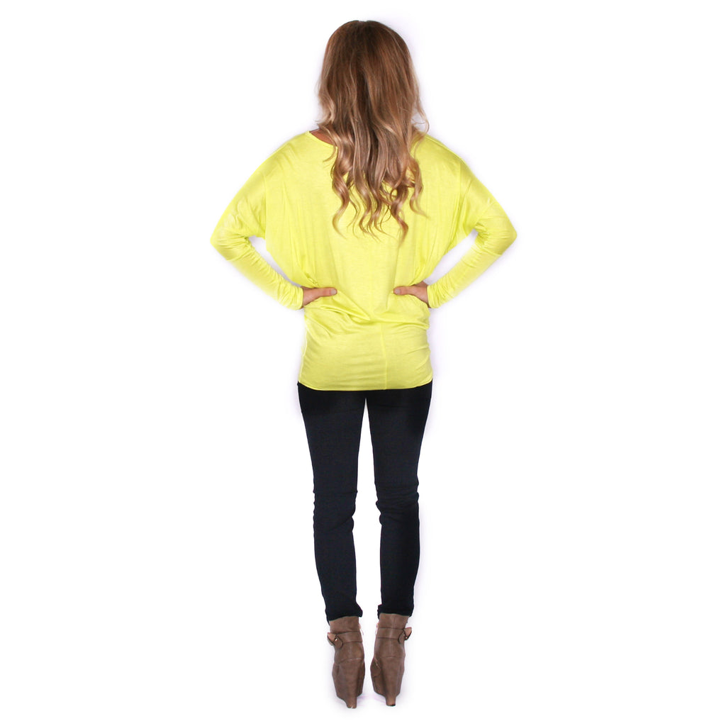 Ciao Bella Tee in Lime