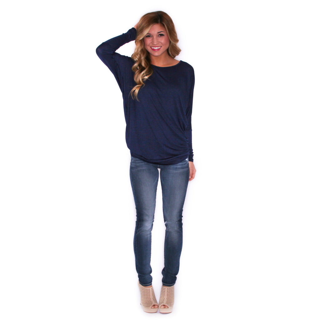 Ciao Bella Tee in Navy