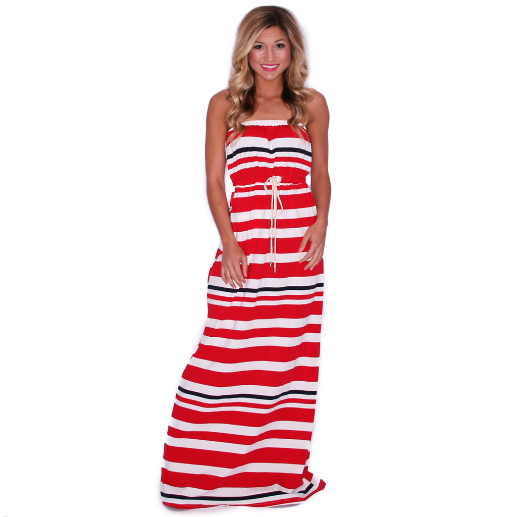 Completely Kissable Maxi in Red