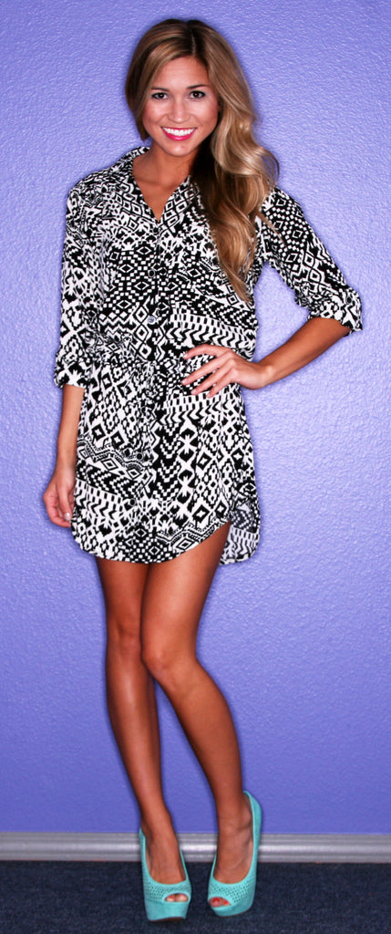 Congo Shirt Dress