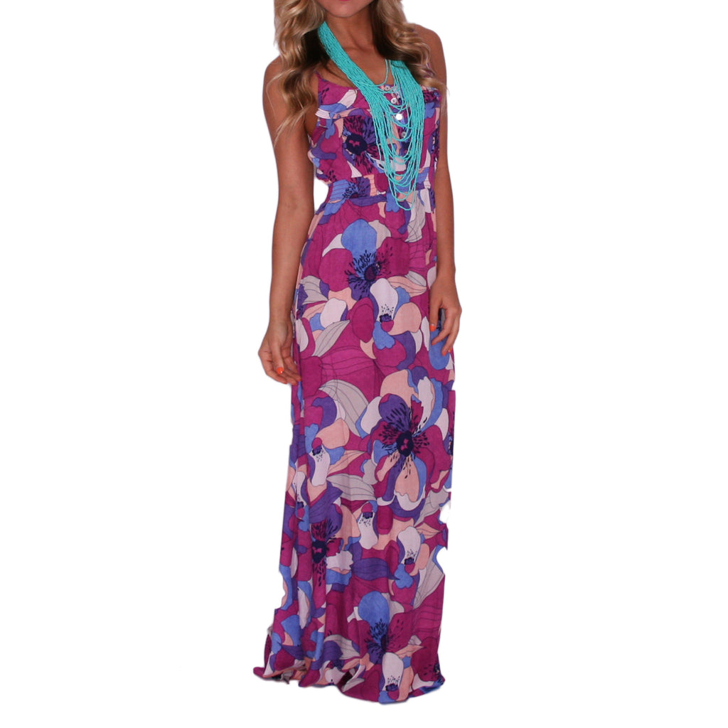 Counting Down To Happy Hour Maxi in Purple