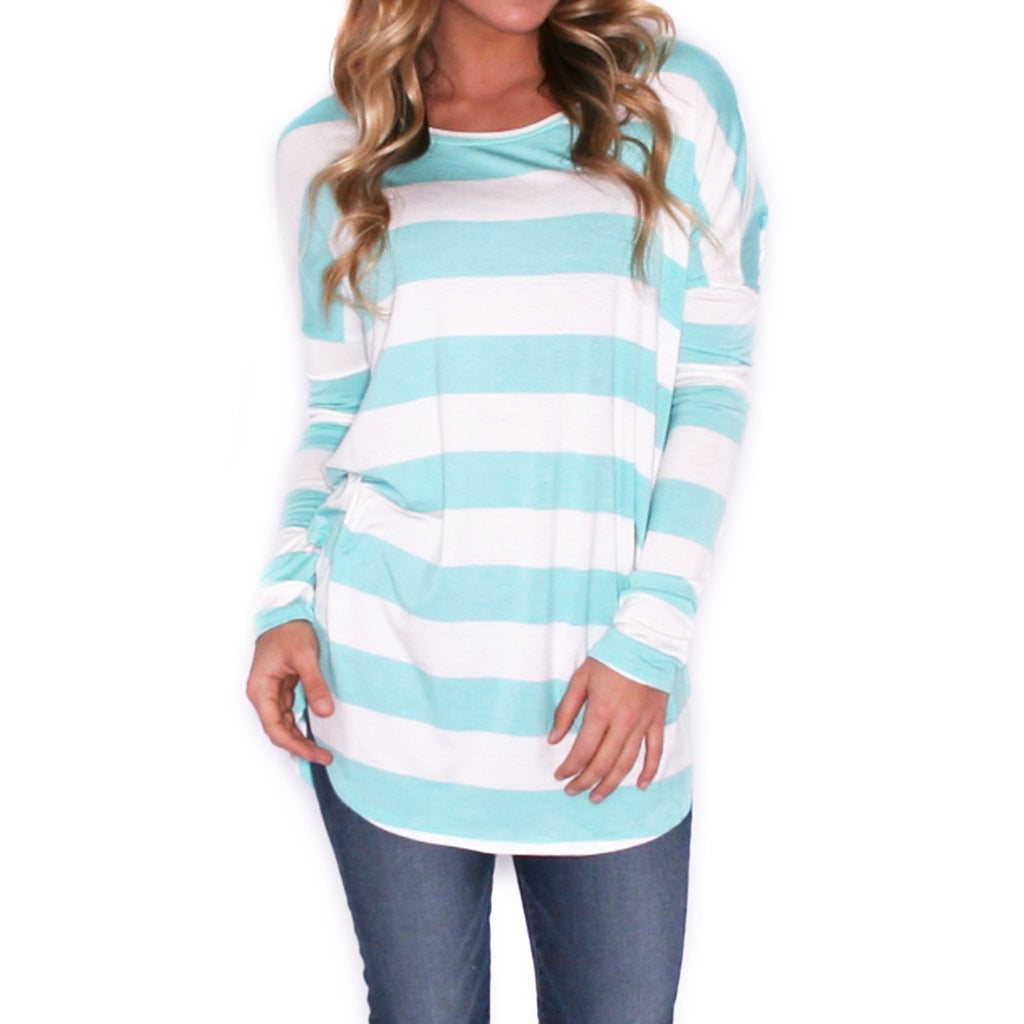 Coveted Stripe in Mint
