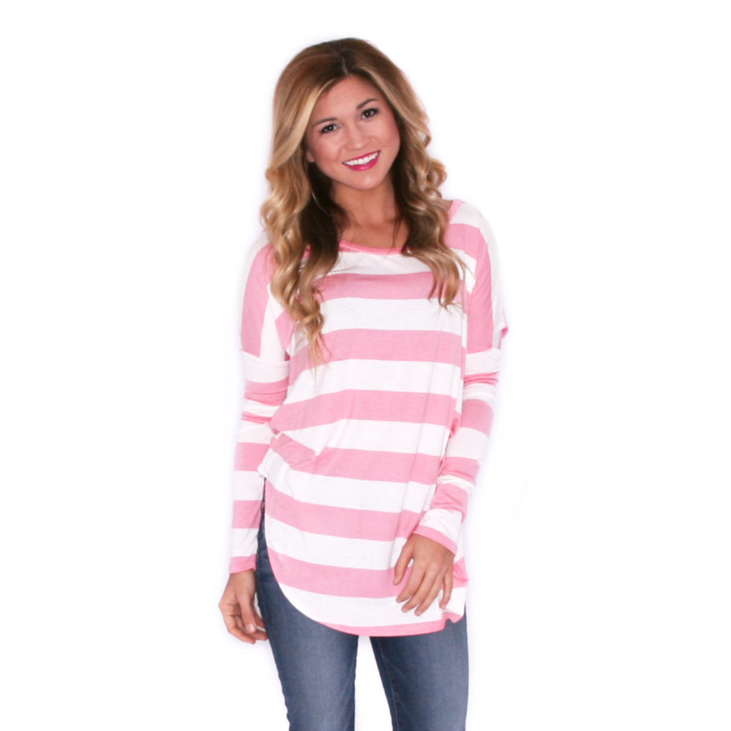 Coveted Stripe in Pink