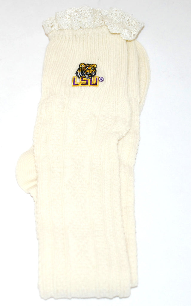 Collegiate Leg Warmers LSU