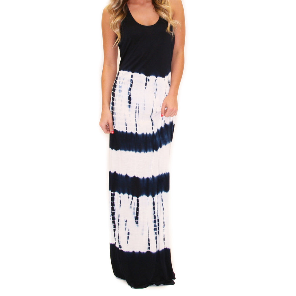 Cross My Heart Maxi Navy