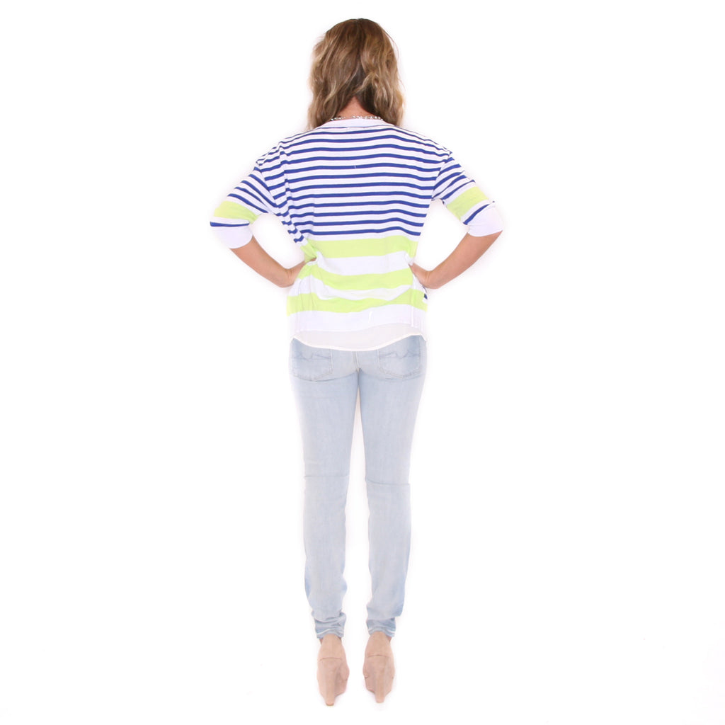 Crushing On Stripes Lime