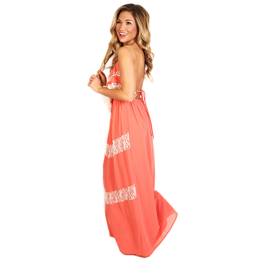 Crushing On You Maxi Coral
