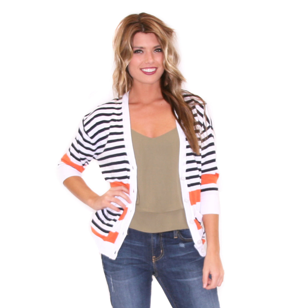 Crushing On Stripes Orange