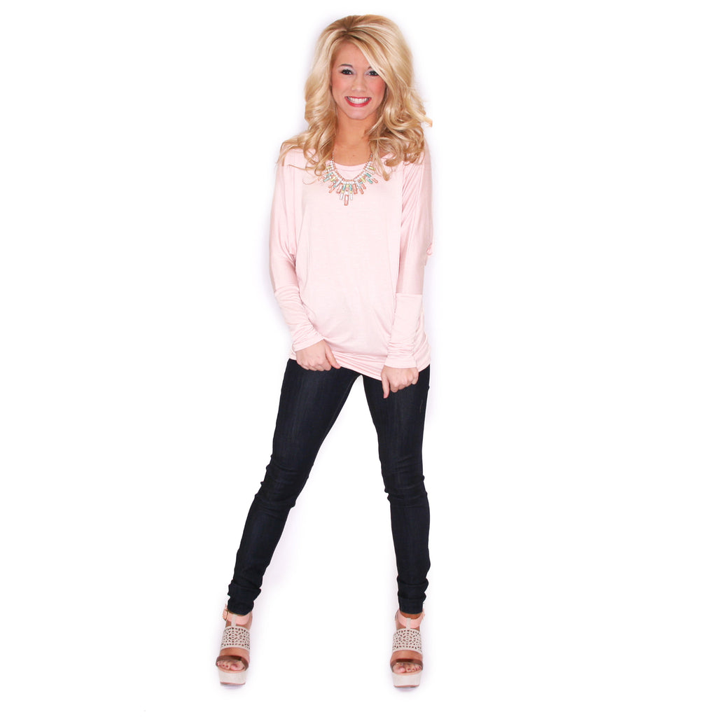 Crush Worthy Tunic Blush