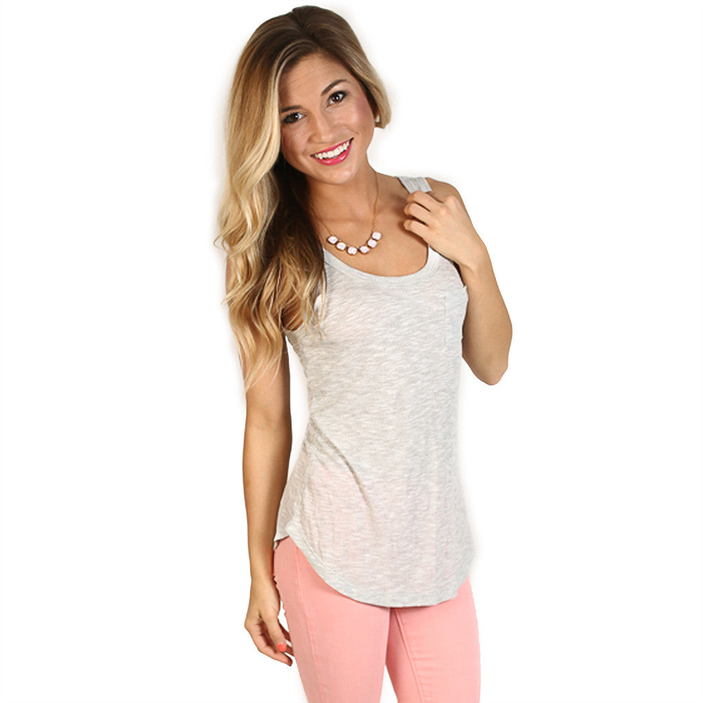 Sea Breeze Tank in Grey