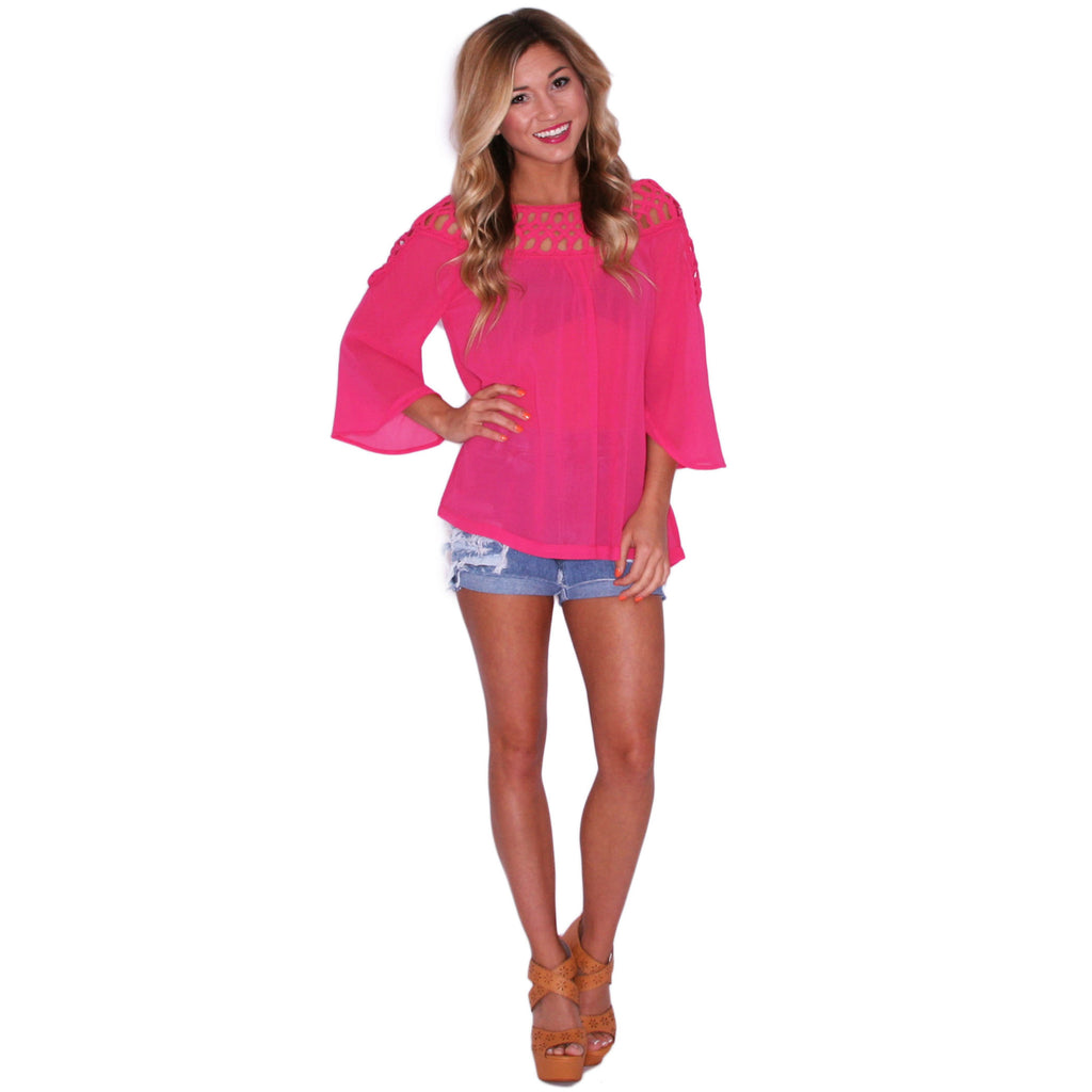 Cutie In The City in Fuchsia