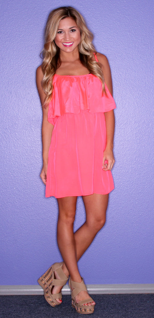 Just Dance Dress Coral