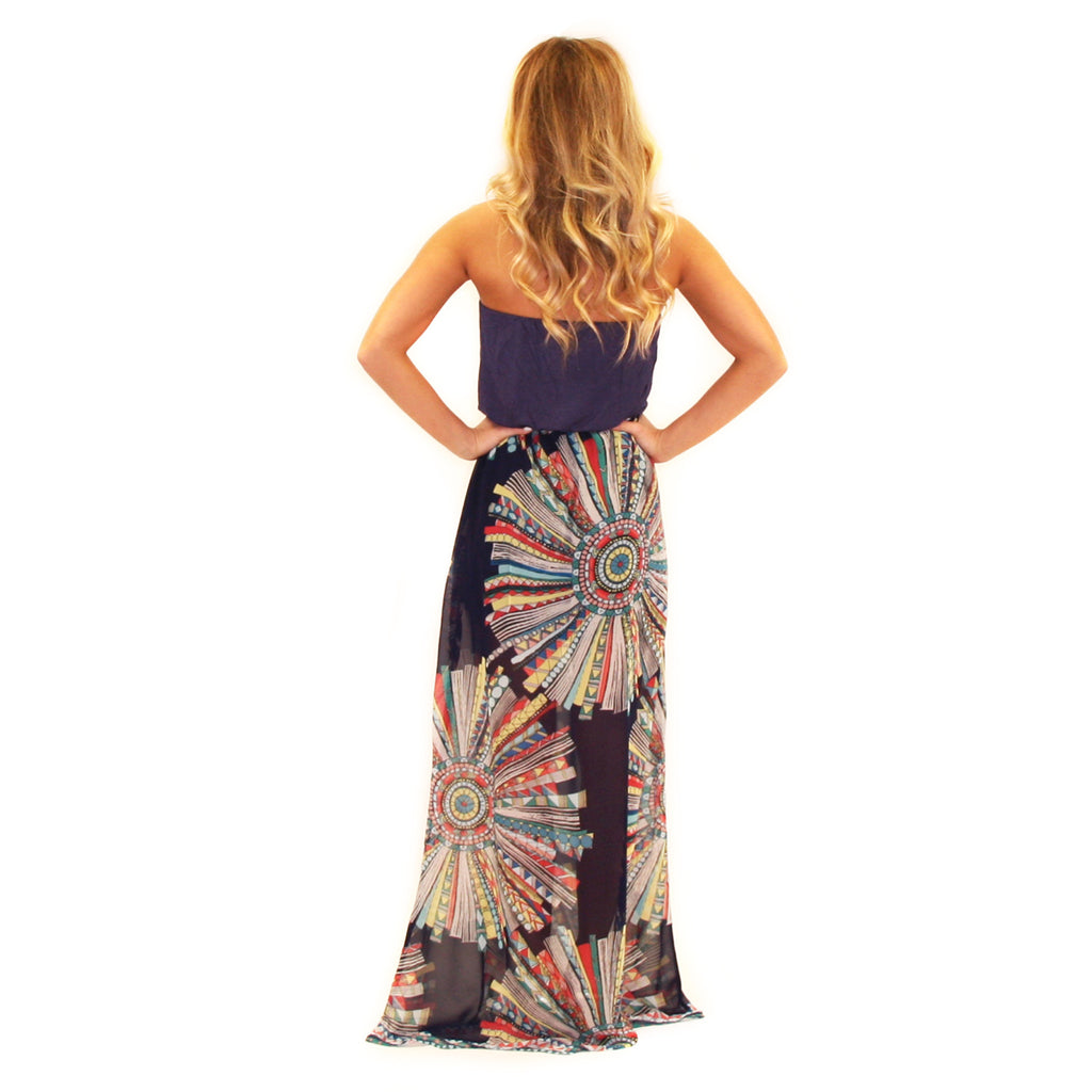 Dance With Me Maxi Navy