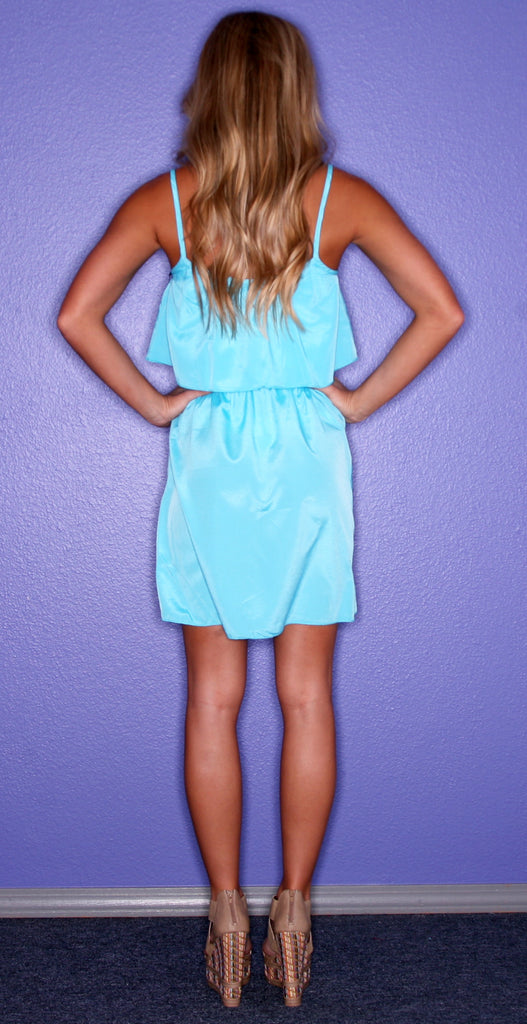 Just Dance Dress Teal