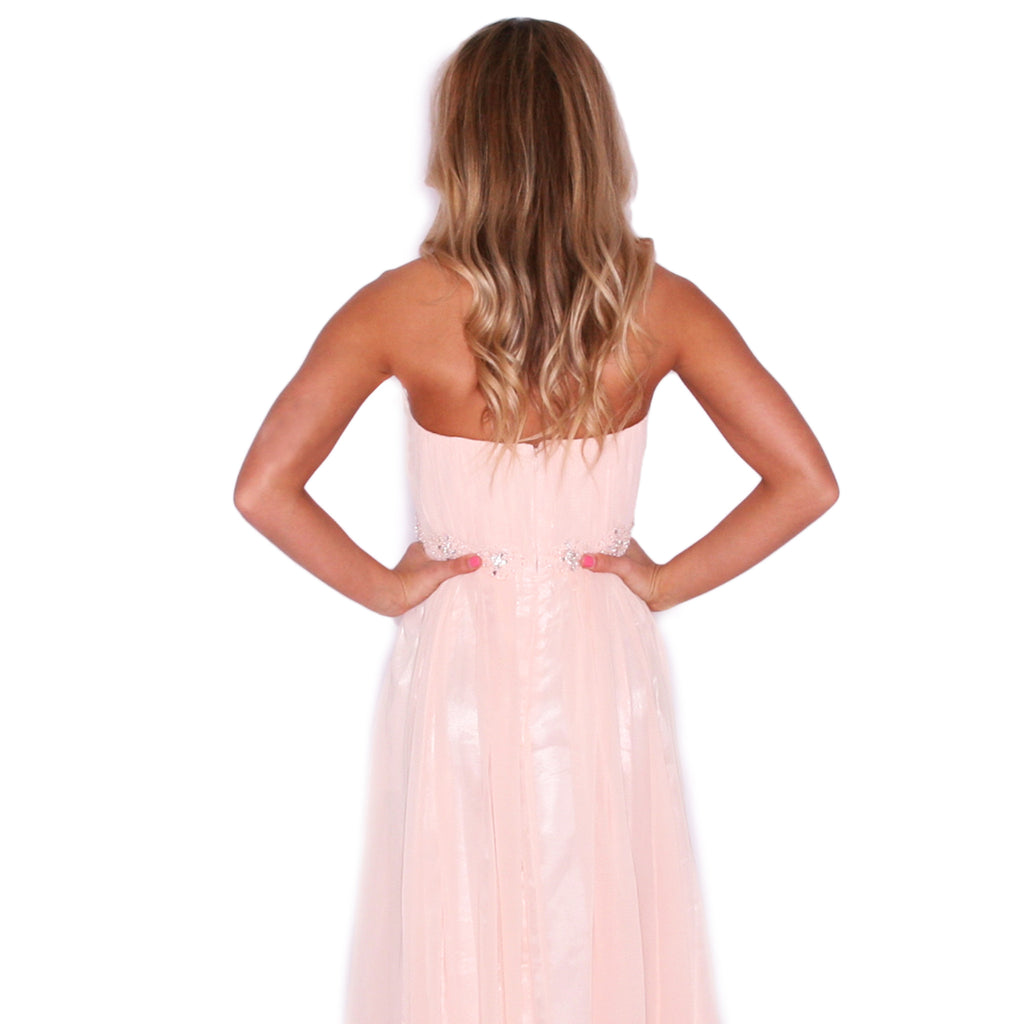 Dancing The Night Away in Peach