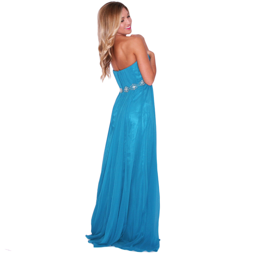 Dancing The Night Away in Turquoise