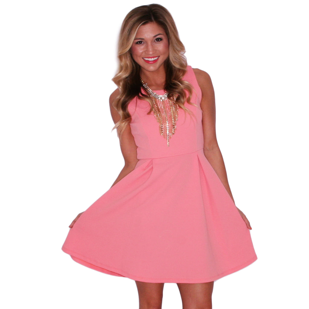 Day Dreaming Dress in Coral