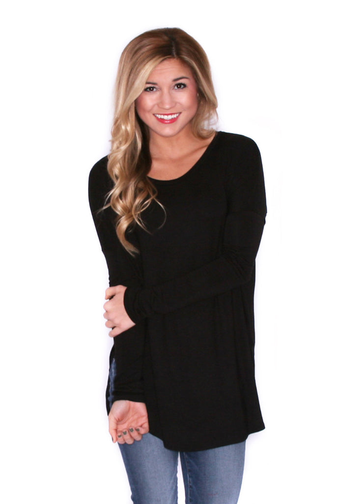 Day To Night Tunic in Black