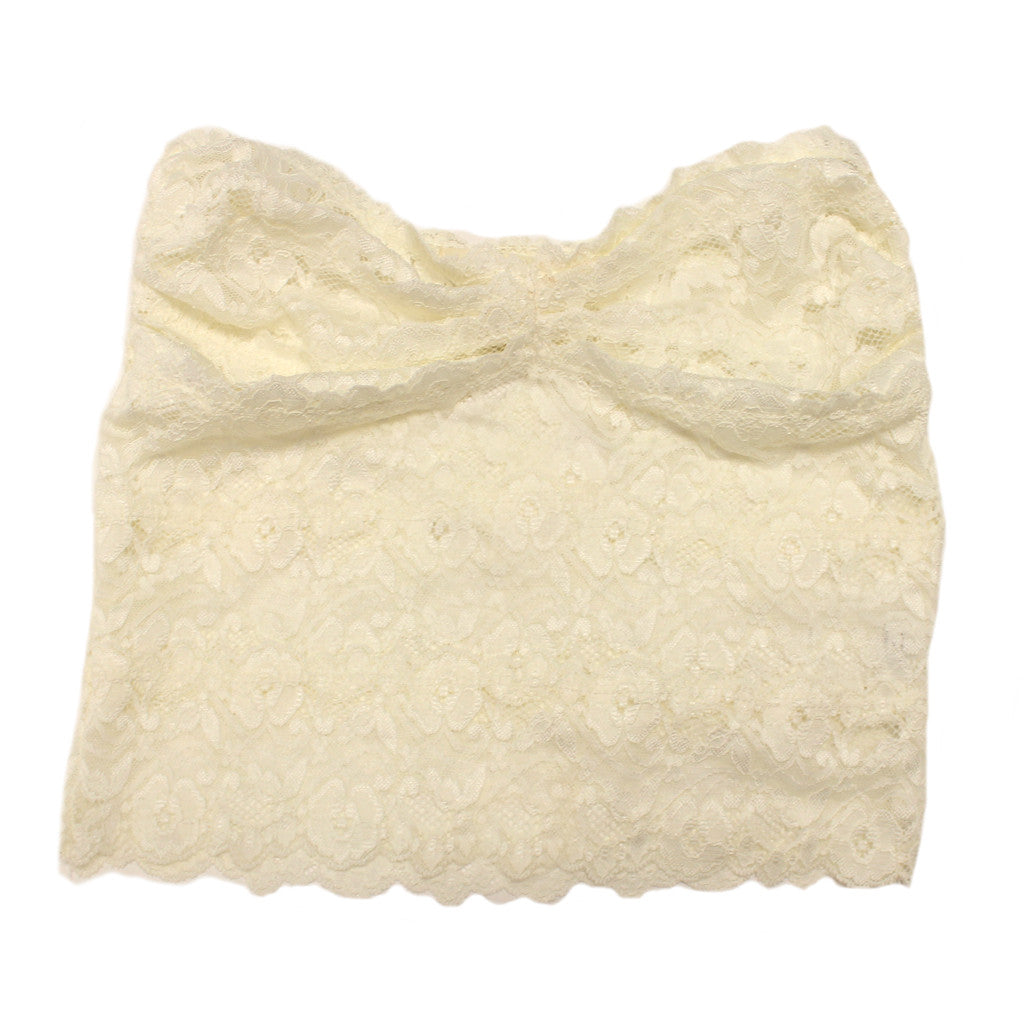 Divine Lace Top in Ivory