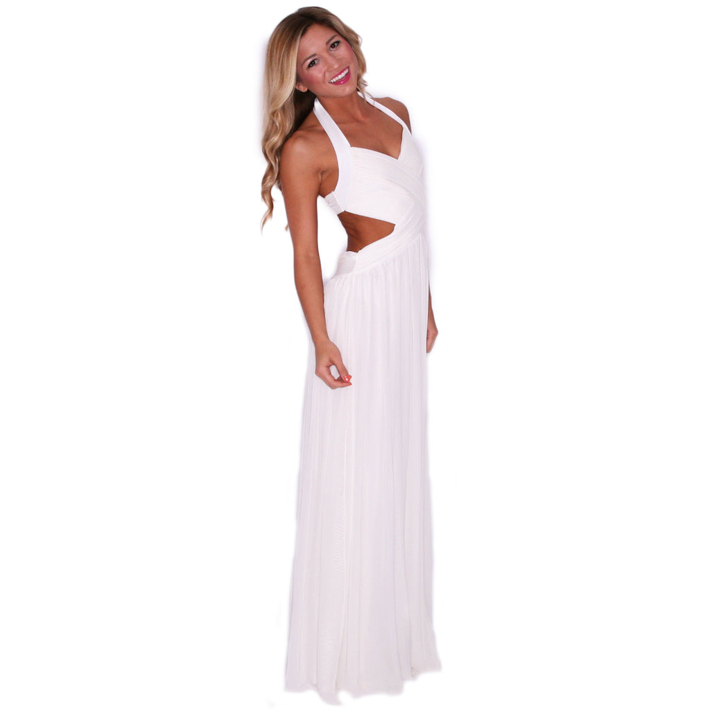 Divine Reveal Maxi in Ivory