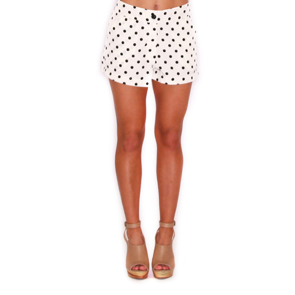 Sweet Dot Short Ivory