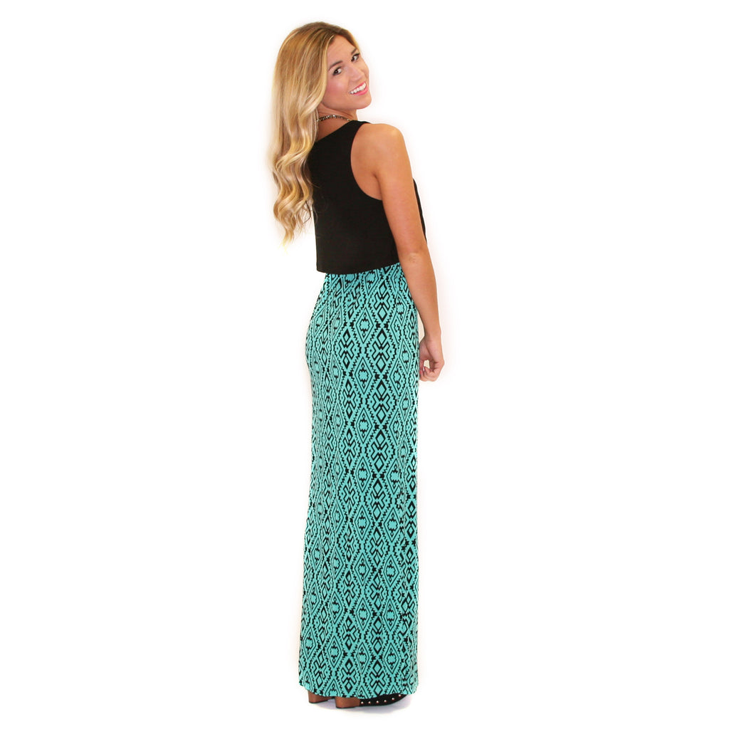 Downtown Divine Maxi in Jade