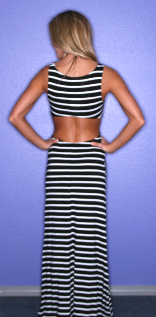 Downtown Stripe in Black