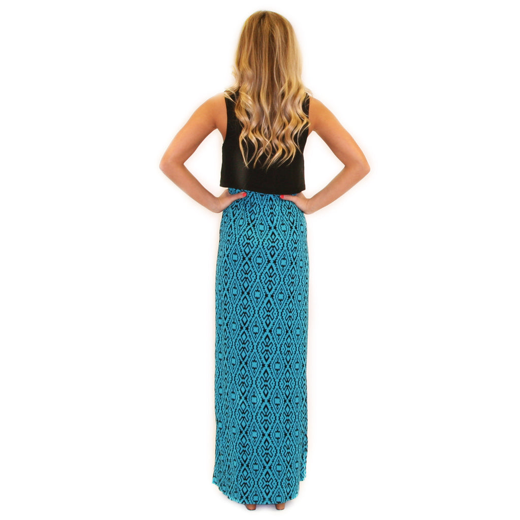 Downtown Divine Maxi in Turquoise