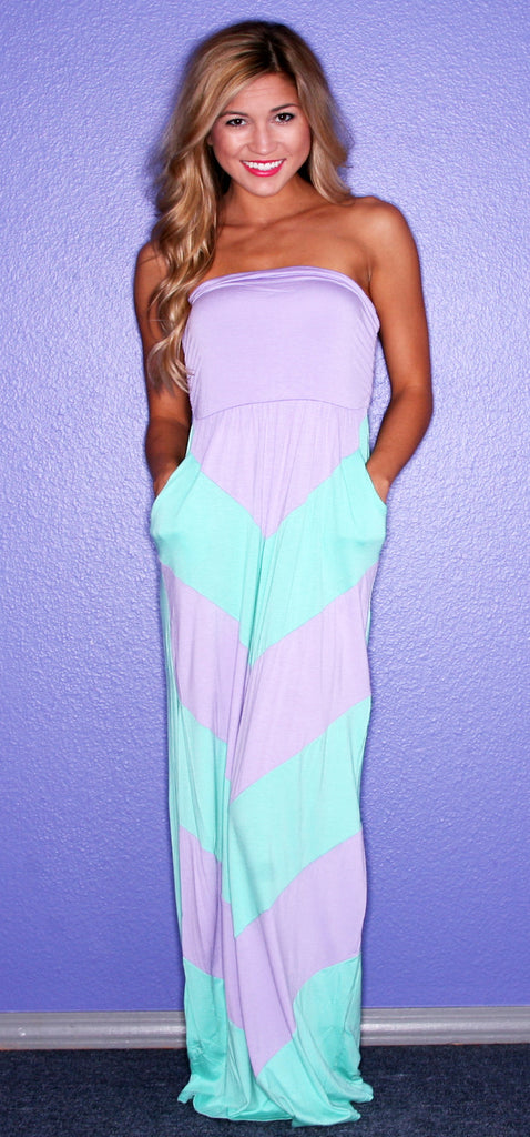 Dream Girl Maxi in Mint