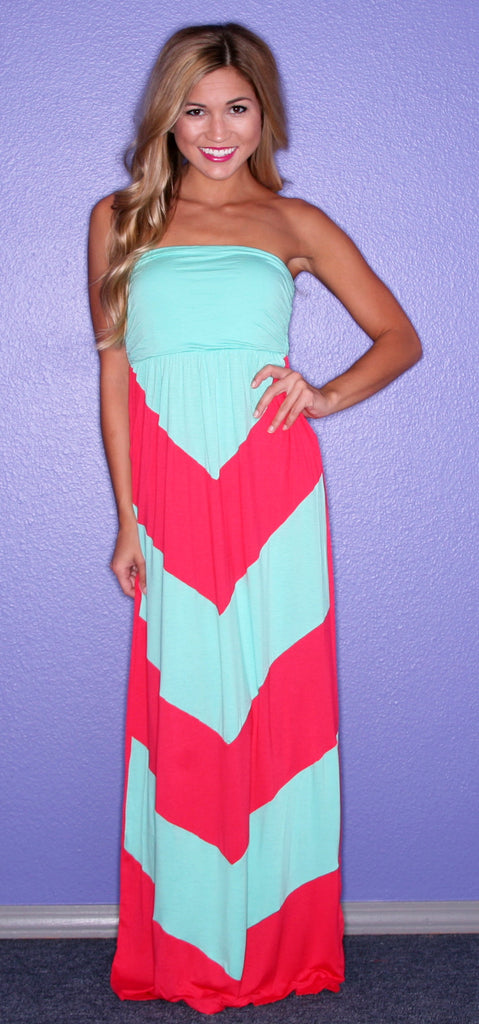 Dream Girl Maxi in Coral