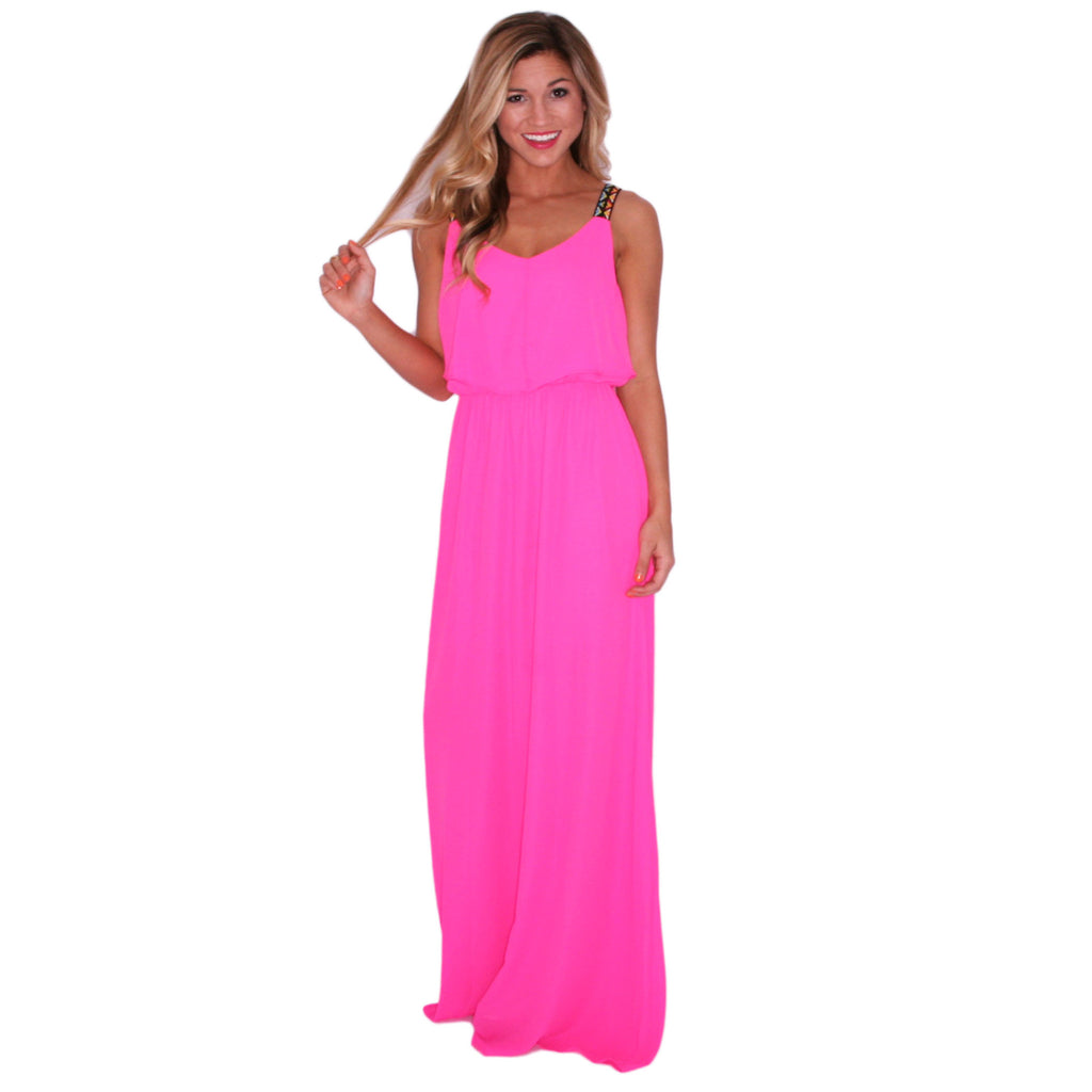 Dream Girl Maxi Hot Pink