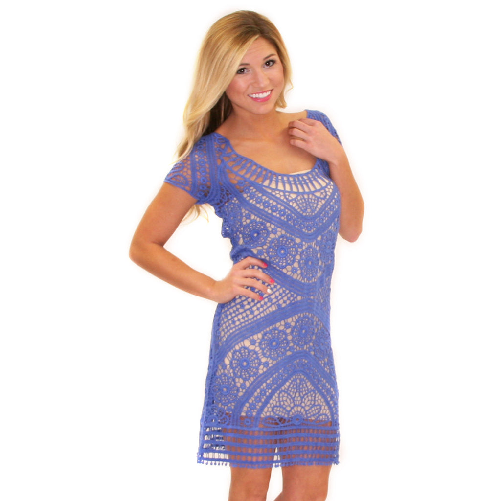 Dream Girl Lace in Blue